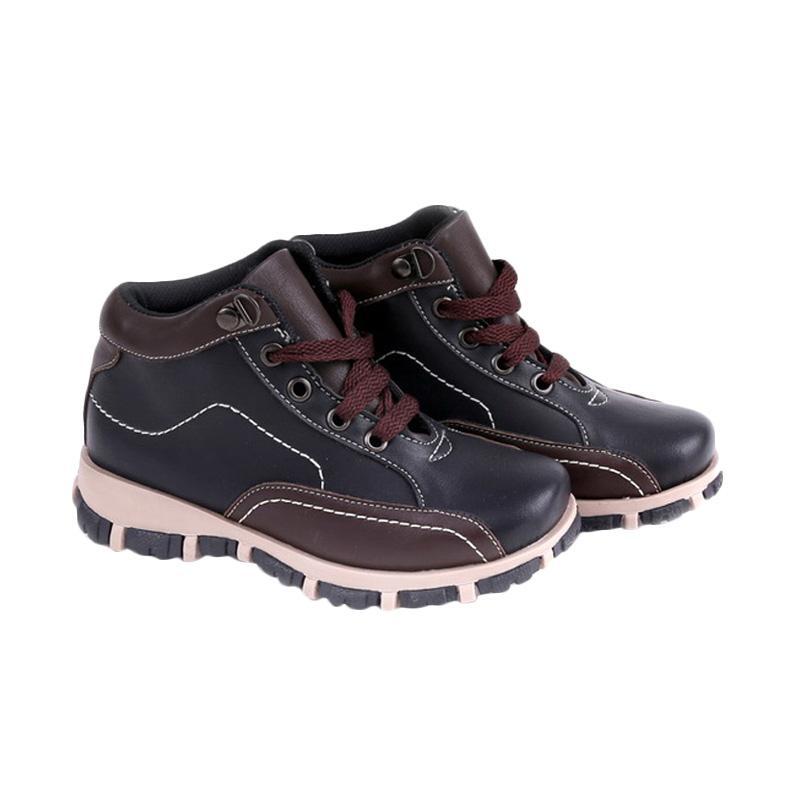 Garucci GMU 9060 Sepatu Kasual Anak Laki-Laki - Black