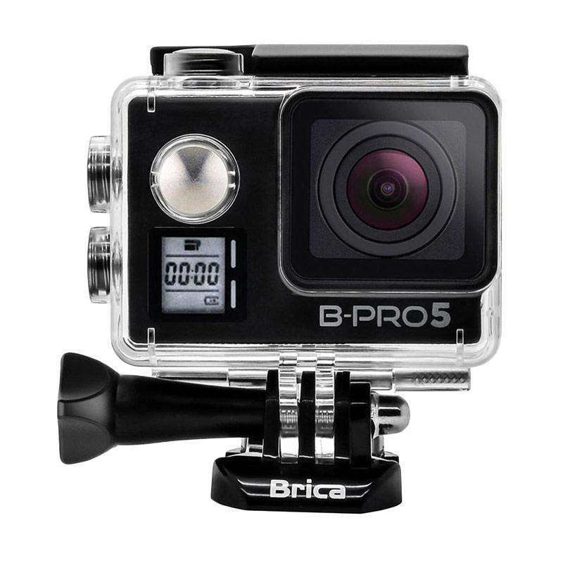 Brica B-PRO 5 Alpha Edition Mark IIS AE2S Combo Attanta Deluxe Action Camera - Hitam