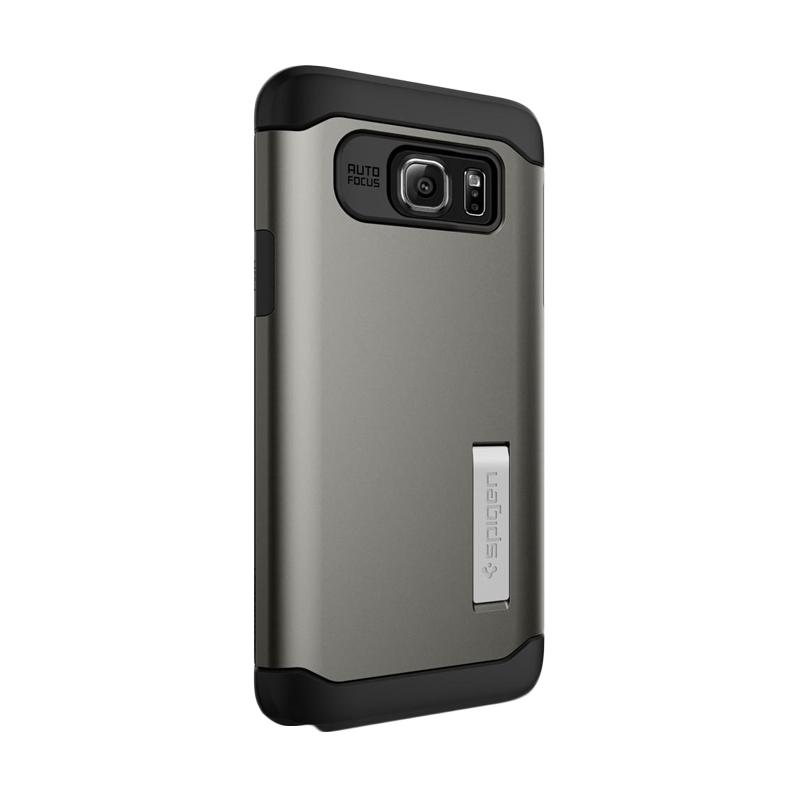 Spigen Slim Armor Casing for Samsung Galaxy Note 5 2015 - Gunmetal
