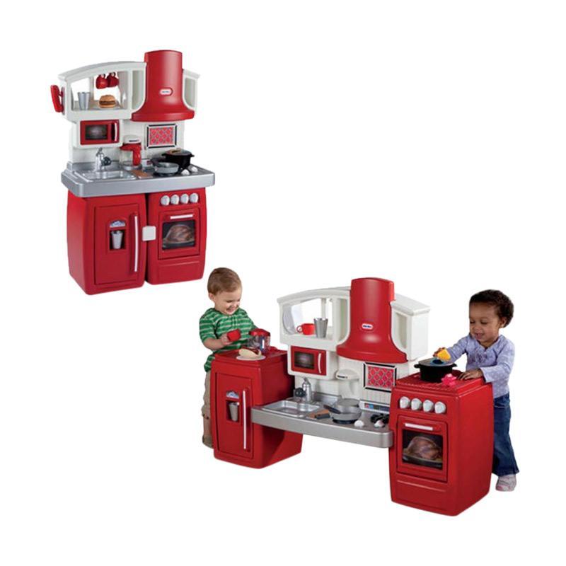 Jual Little Tikes Cook N Grow Kids Kitchen Set Mainan Anak Online Januari 2021 Blibli