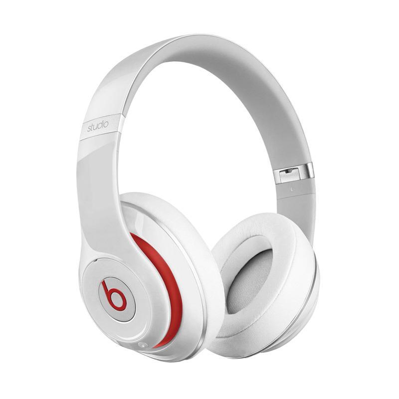 Beats Studio 2.0 Wired Over-Ear Headphone - White