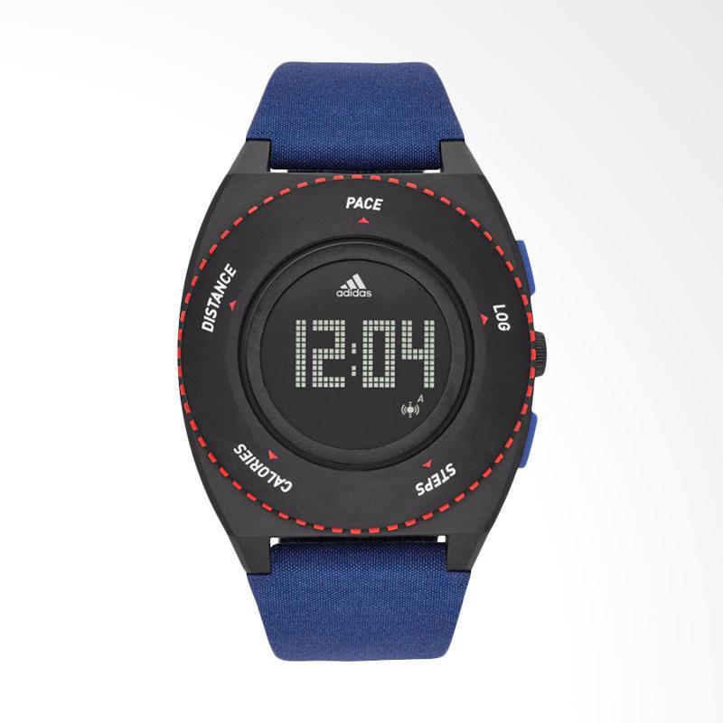 adidas – adidas ADP3274 Digital Sport Watch Sprung Cloth Strap Jam Tangan Wanita – Blue
