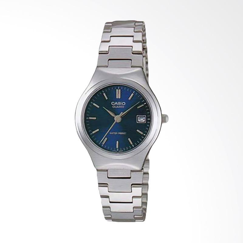 Casio Standard LTP-1170A-2ARDF Quartz Ladies Watch Stainless Steel Jam Tangan Wanita