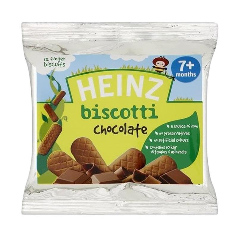harga Heinz Chocolate Biscotti Snack Bayi [60 g] Blibli.com