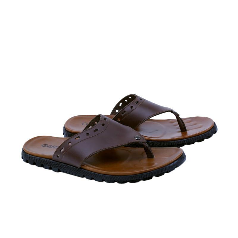 Garsel Sandal Kasual Pria - Coklat GI 3412
