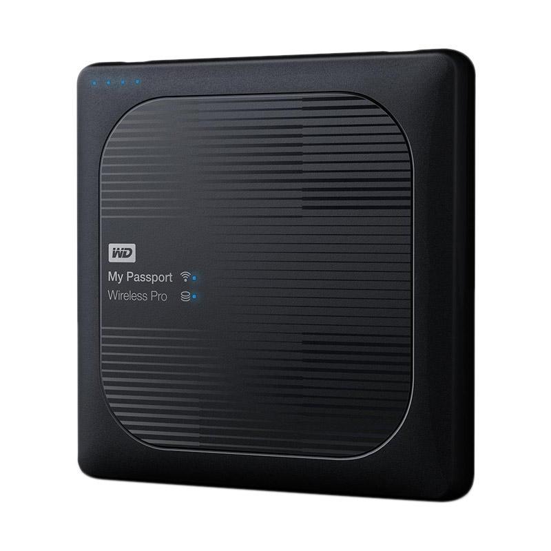 WD WDBSMT0040BBK-NESN My Passport Wireless Pro Eksternal Harddisk [4 TB]