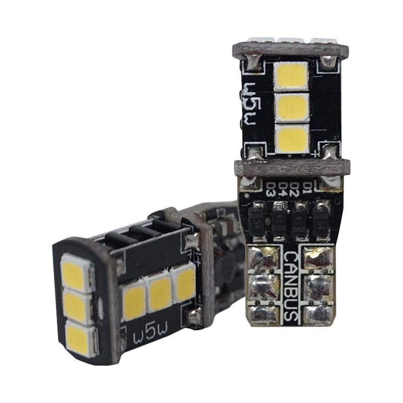 Autovision Microzen LED T10 9-2835SMD Canbus Bohlam Lampu - White [12V / 4.5W]