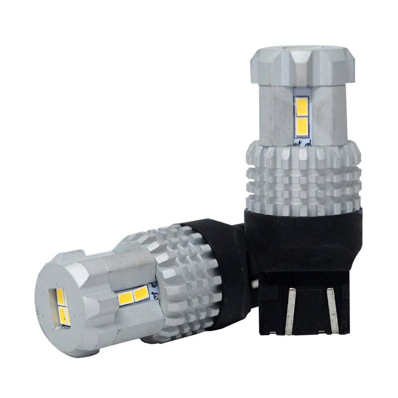 Autovision Microzen LED T20 7443 12-3020SMD Bohlam Lampu - White [12V / 12W]