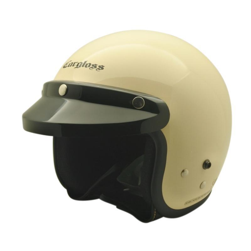 harga Cargloss Retro Army Helm Half Face - Avorio Naide Blibli.com
