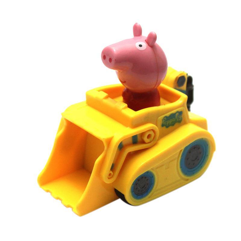 Skai Peppa Pig Yellow Car Mainan Edukasi Anak