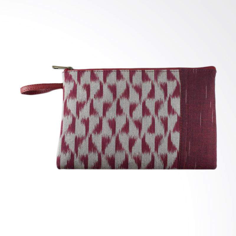 Dara Ethnic Clutch - Red