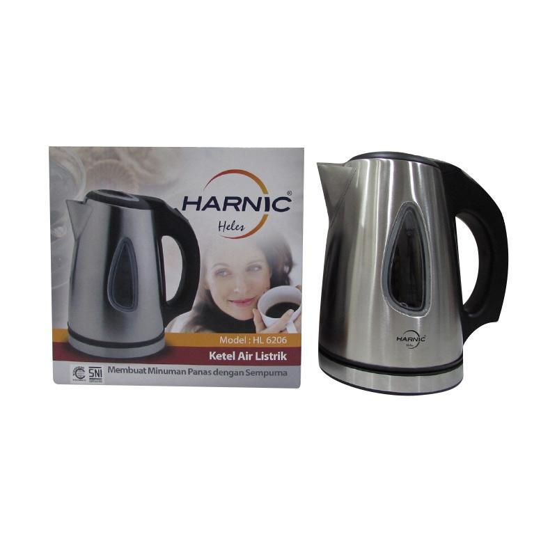 harga Daily Deals - Heles-Harnic HL-6206 Kettle / Teko Listrik / Pemanas Air Elektrik Stainless Body Kettle Listrik [1 L] Blibli.com