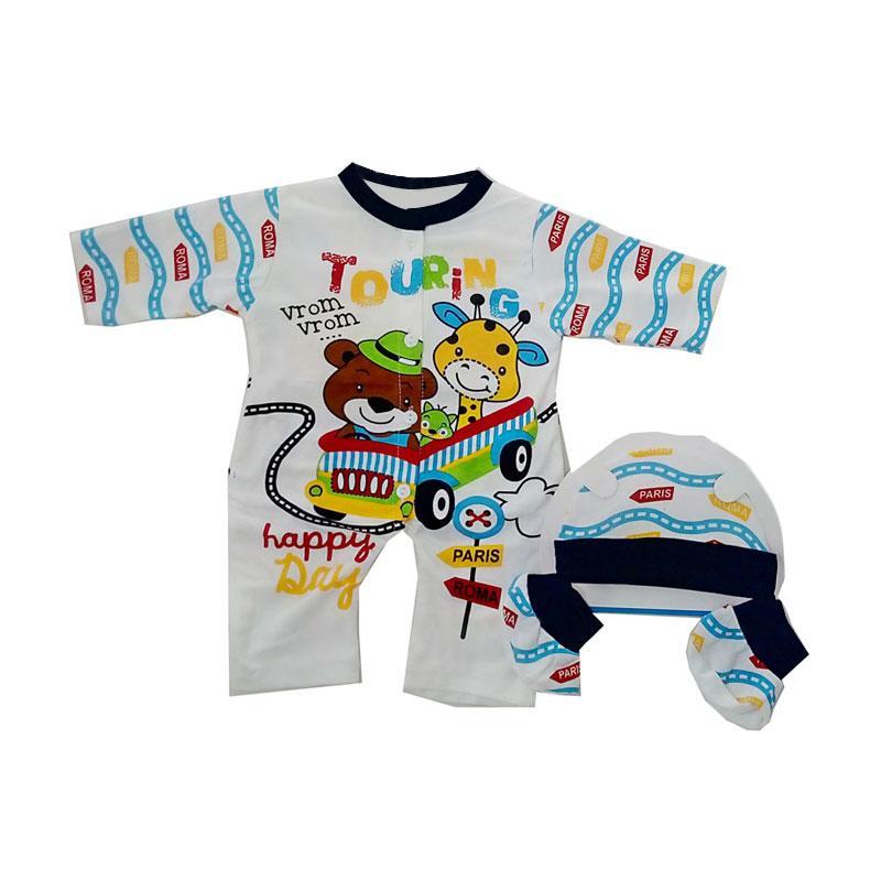 harga MOMO Jumper Set Pakaian Anak - Biru Tua [3in1] Blibli.com