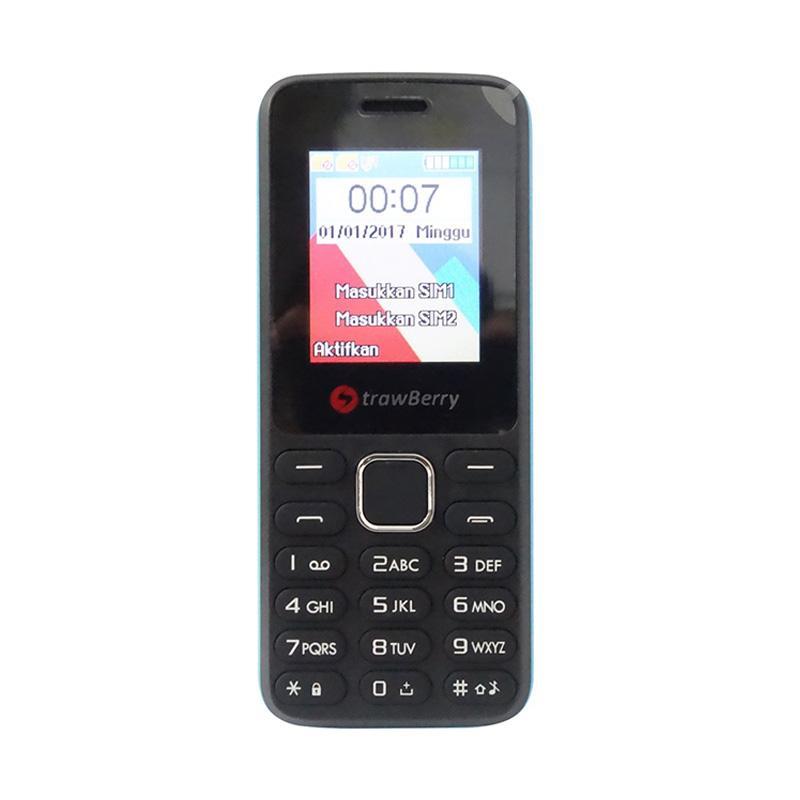 harga Strawberry S805 KGTEL Candybar Handphone - Blue [Dual SIM GSM] Blibli.com