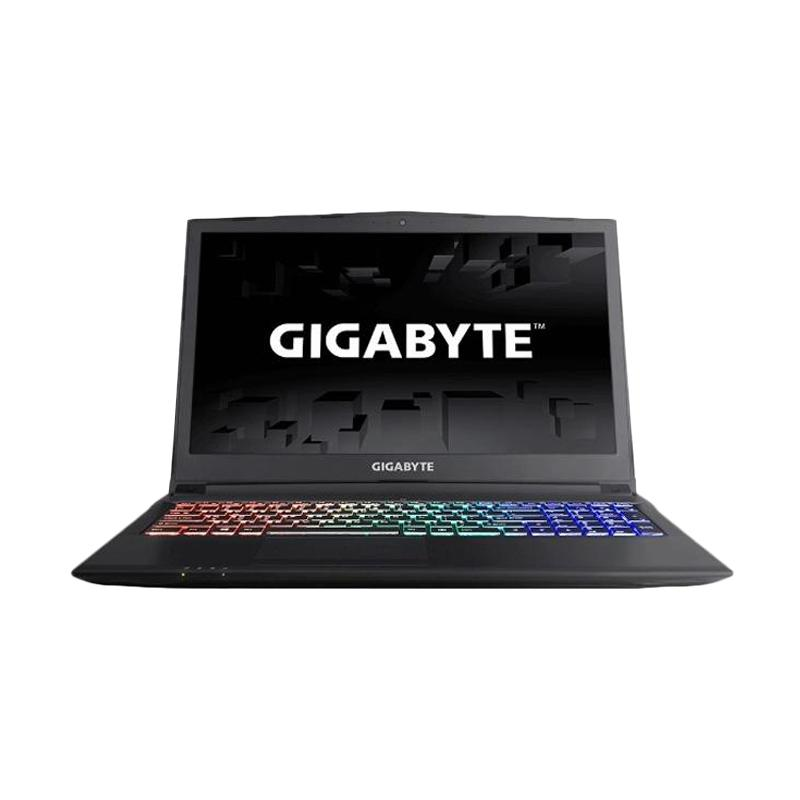 Gigabyte SABRE 15-G-005 Notebook - Black [Intel Core i5-7300HQ 2.5-3.5GHz/ 8 GB/ 1 TB/ GTX1050 2GB/ 15.6 FHD/DOS]