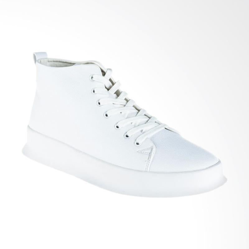 harga Papercut Men Chelsea Casual Shoes Sepatu Pria - White [080] Blibli.com