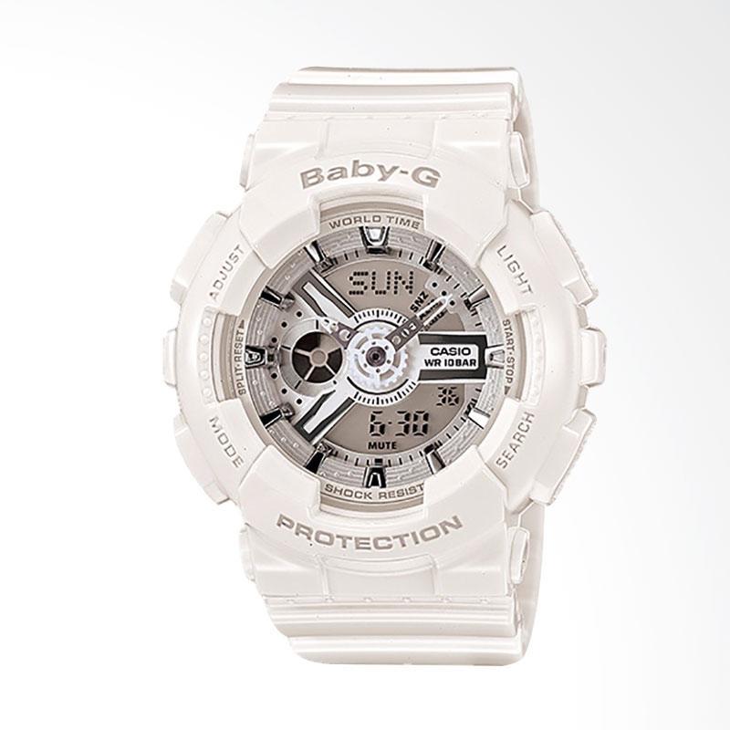 Casio Baby-G BA-110-7A3DR Jam Tangan Wanita - White