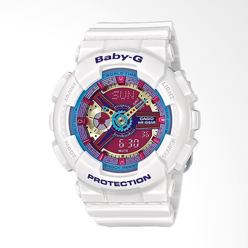 Casio Baby-G BA-112-7ADR Jam Tangan Wanita - White