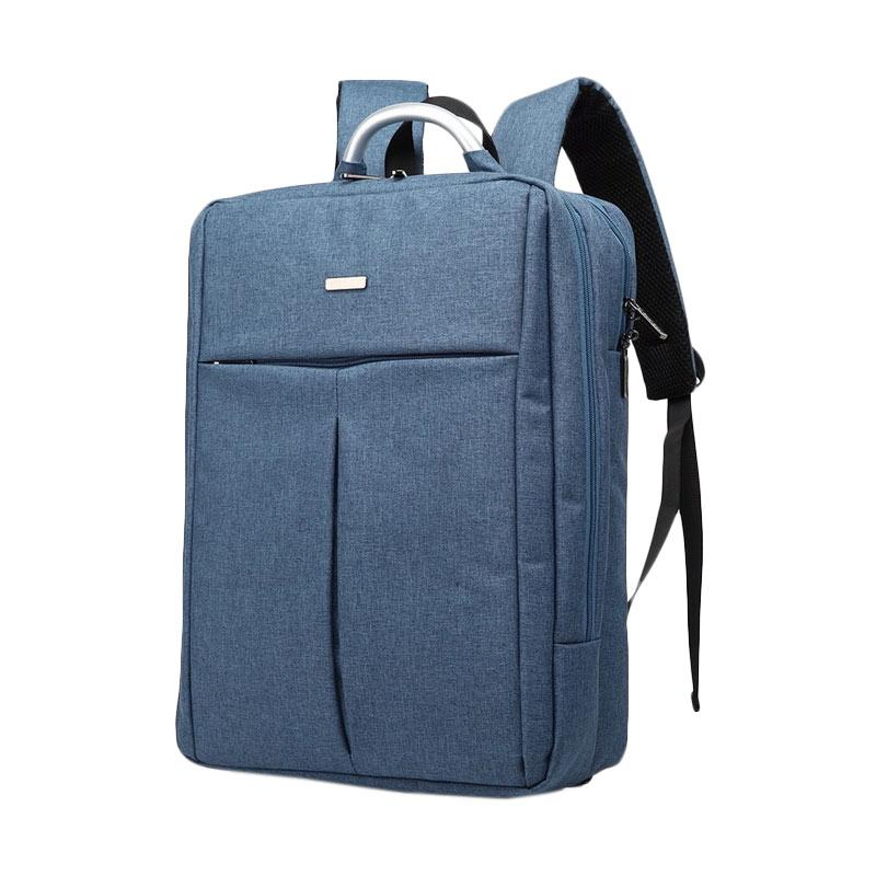 CoolBell Original Multifunctional CB-6107 Backpack Tas Laptop 15.6 Inch - Blue