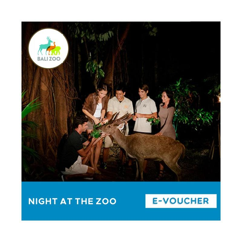 Bali Zoo Park Night At The Zoo E-Voucher [Adult]