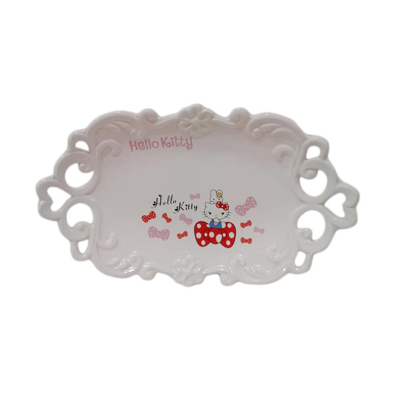 Hello Kitty Polka Ribbon HK Piring Pesta - Multicolor