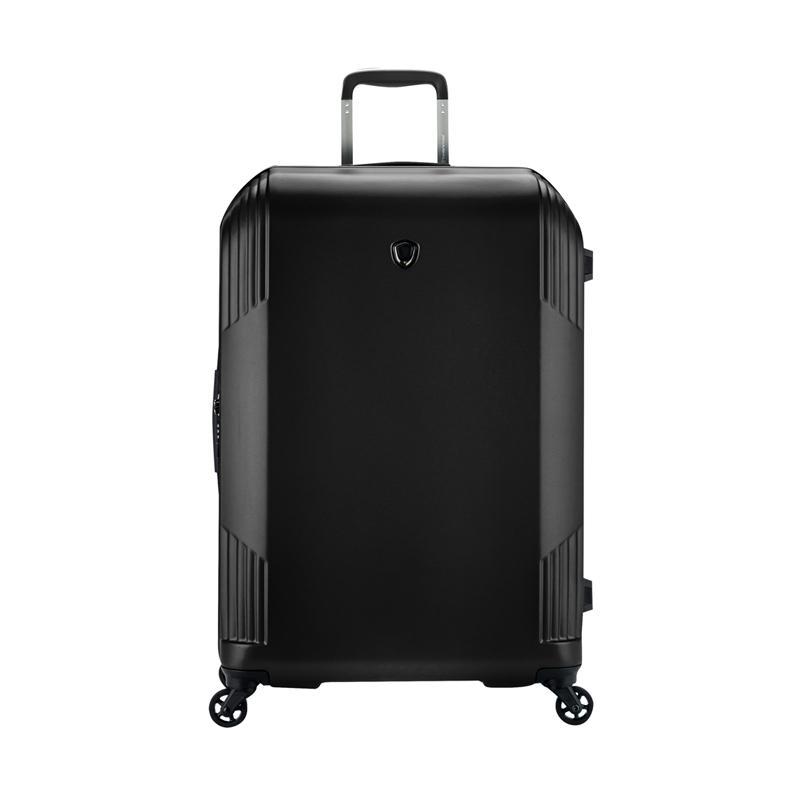 Traveler's Choice Riverside Hardcase Large Trolley Bag - Black [31 Inch]