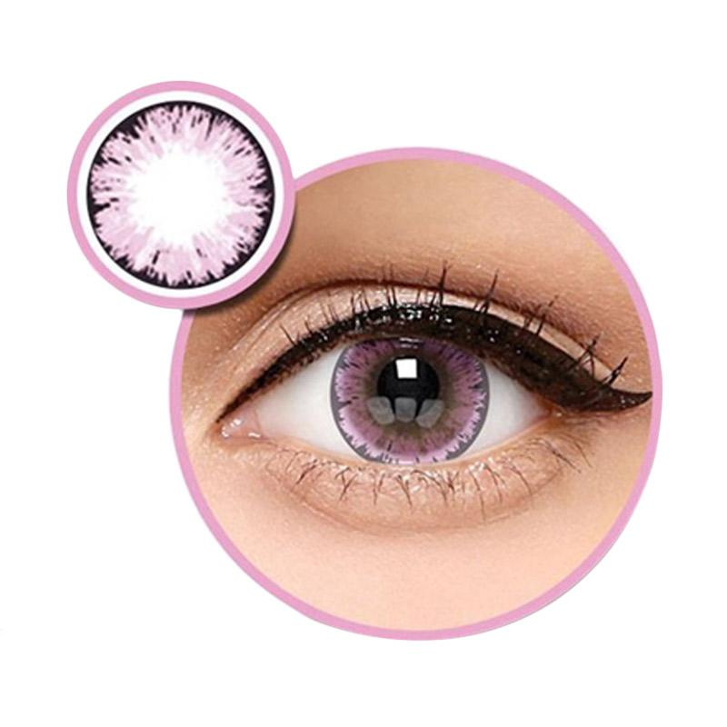 Ice Exoticon X2 Ice No. 8 Softlens - Pink [Plano]
