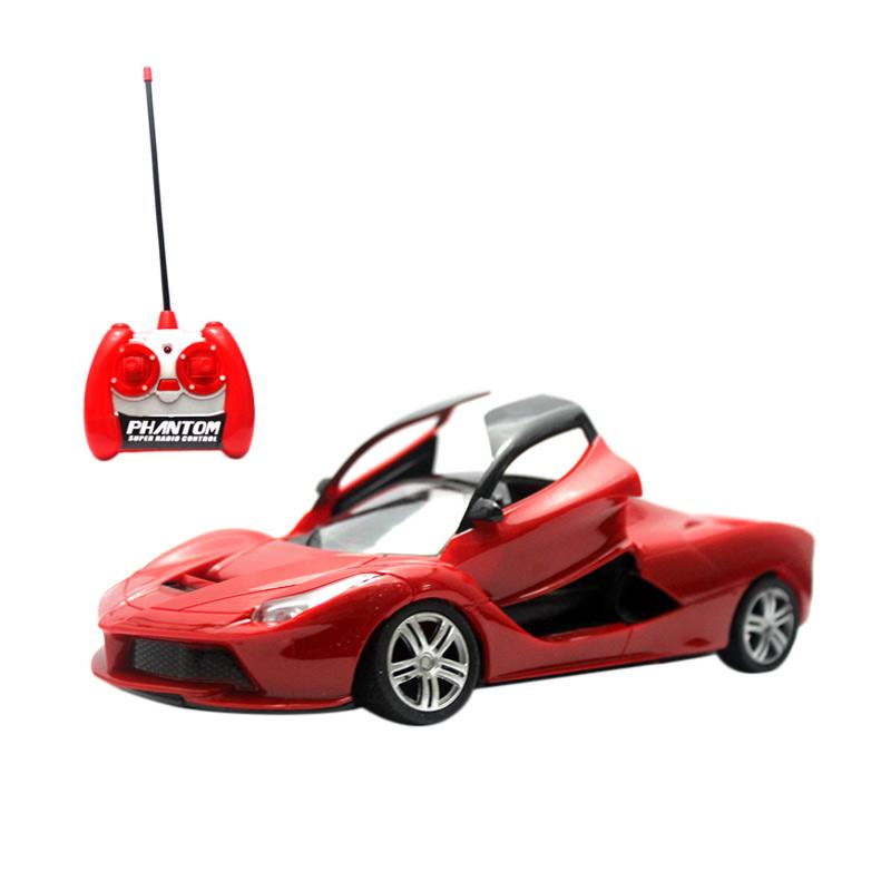 Yoyo RC Red Ferrari Mainan Remote Control