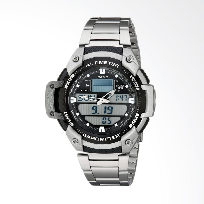 Casio Men's Sport Multi-Function Grey Dial Watch Jam Tangan Pria SGW400HD-1B