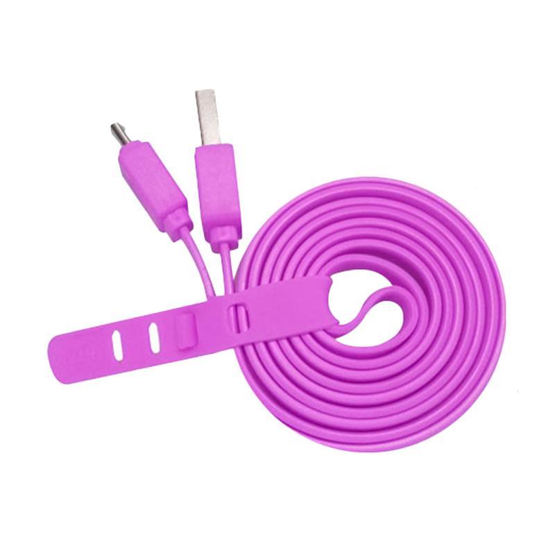 VIVAN CSM 100 Micro USB Kabel Data - Ungu