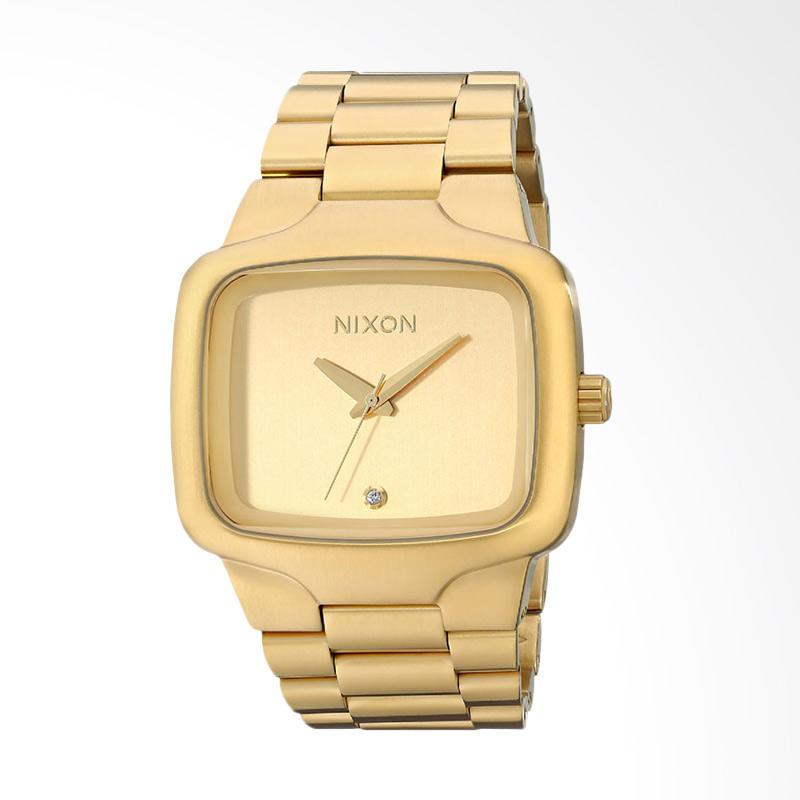 Nixon Chrono Multi Jam Tangan Pria - Gold A4861320 48-20