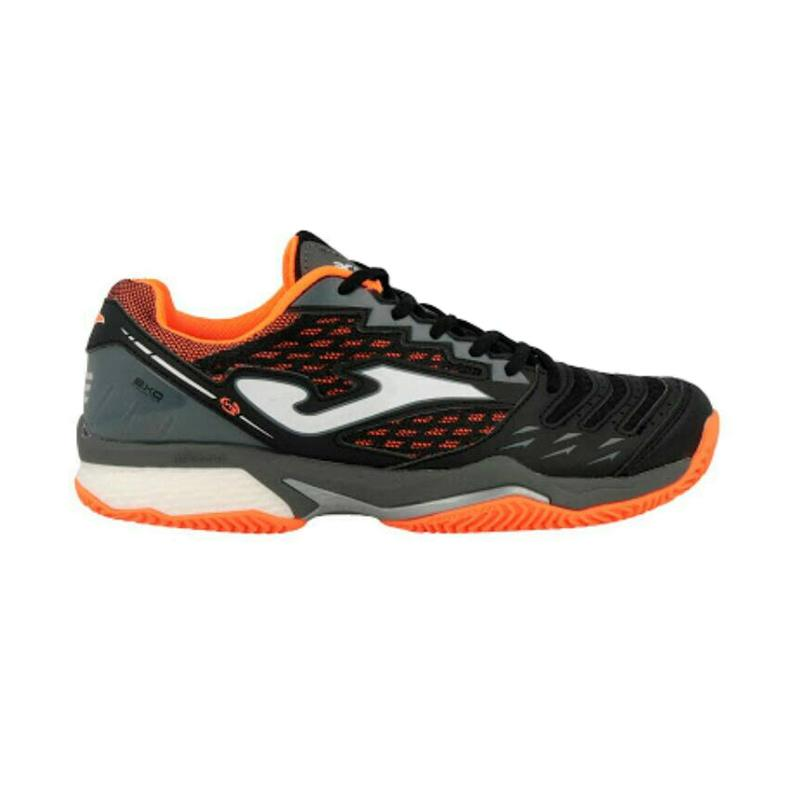 Joma T. Ace Black All Court Sepatu Tennis Pria - Black 701