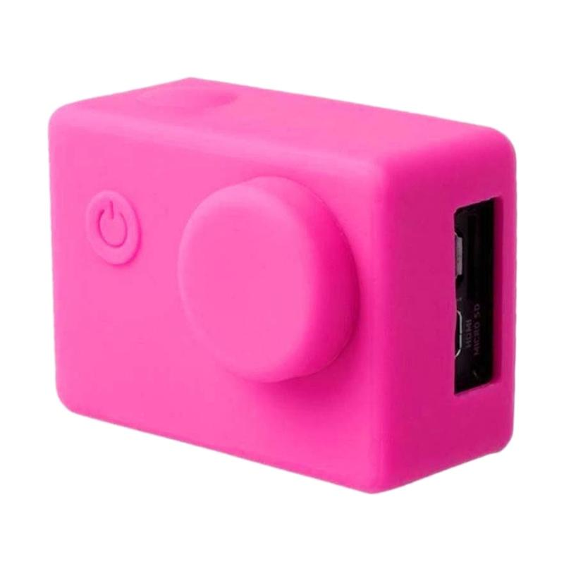 Brica B-PRO Alpha Edition AE Action Camera Silicone Case and Lens Cap - Pink