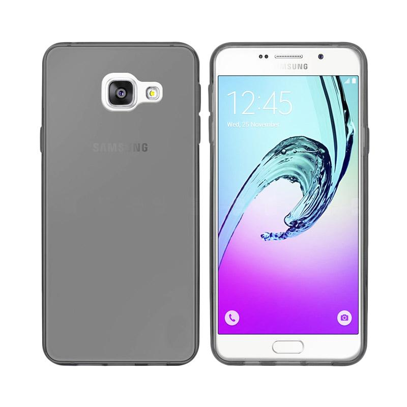Ume Ultrathin Silicone Jelly Softcase Casing for Samsung Galaxy A7 2016 A710 - Hitam