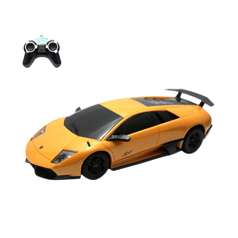Mainan Remote Control RC Yellow Lamborghini Exclusive Series