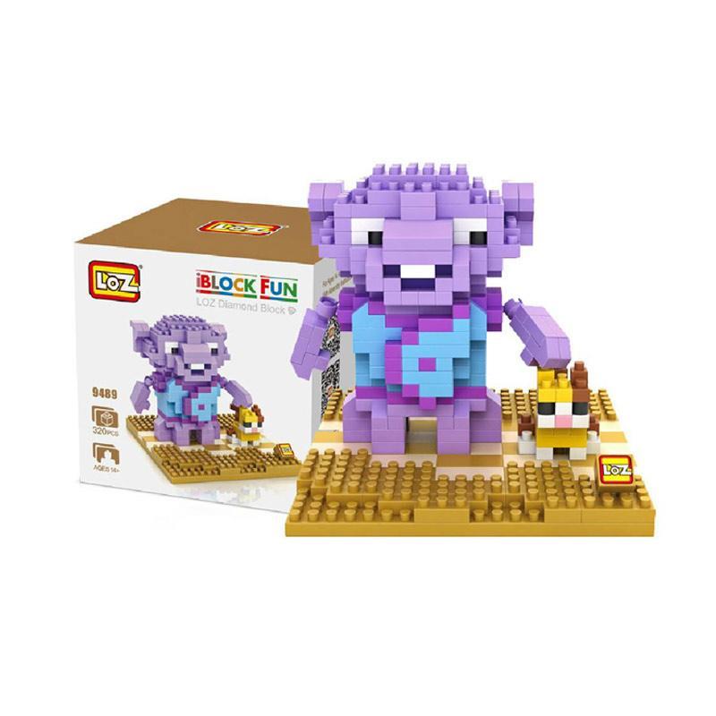 Loz Diamond Block 9489 Gift Large Cartoon Mini Blocks