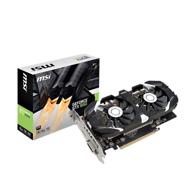 MSI Geforce GTX 1050 2GT OC Graphic Card [2GB/ GDDR5/ 128-bit]