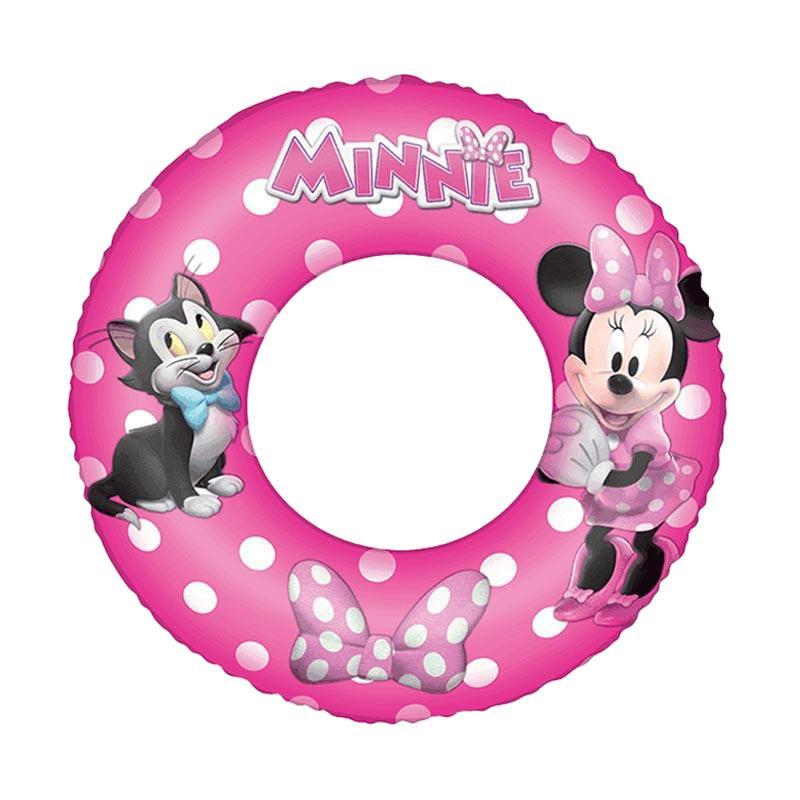 Chanel7 91040 Bestway Swim Ring Minnie Ban Bulat Anak [56 cm]