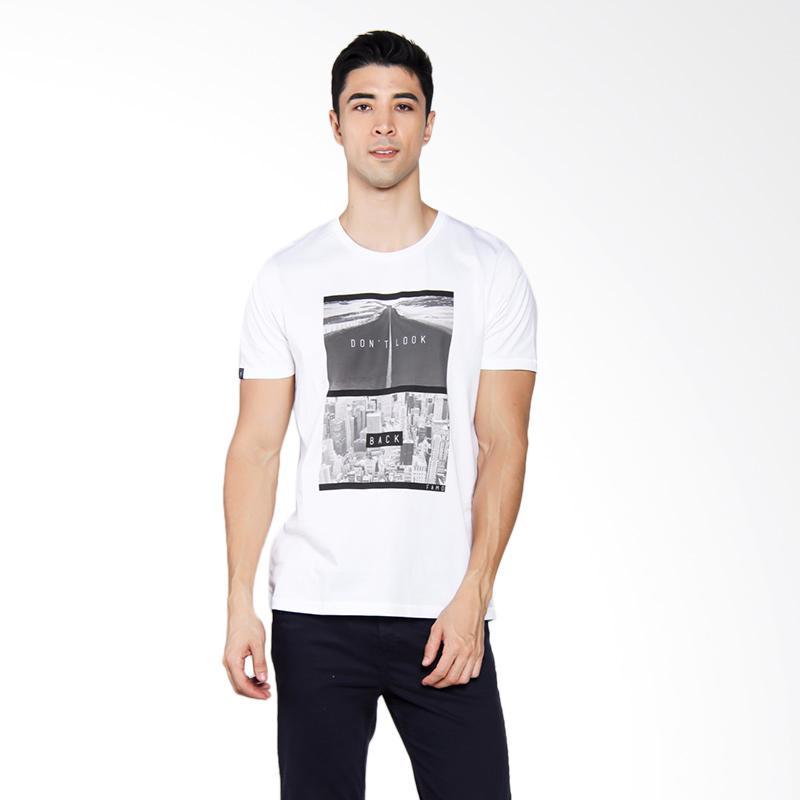 Famo 0304 T-shirt Pria - White [503041712]
