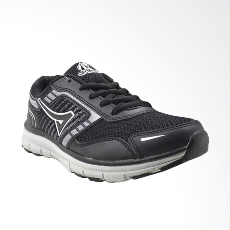 harga New Ardiles Ibra Sepatu Olahraga Pria - Hitam Abu Blibli.com