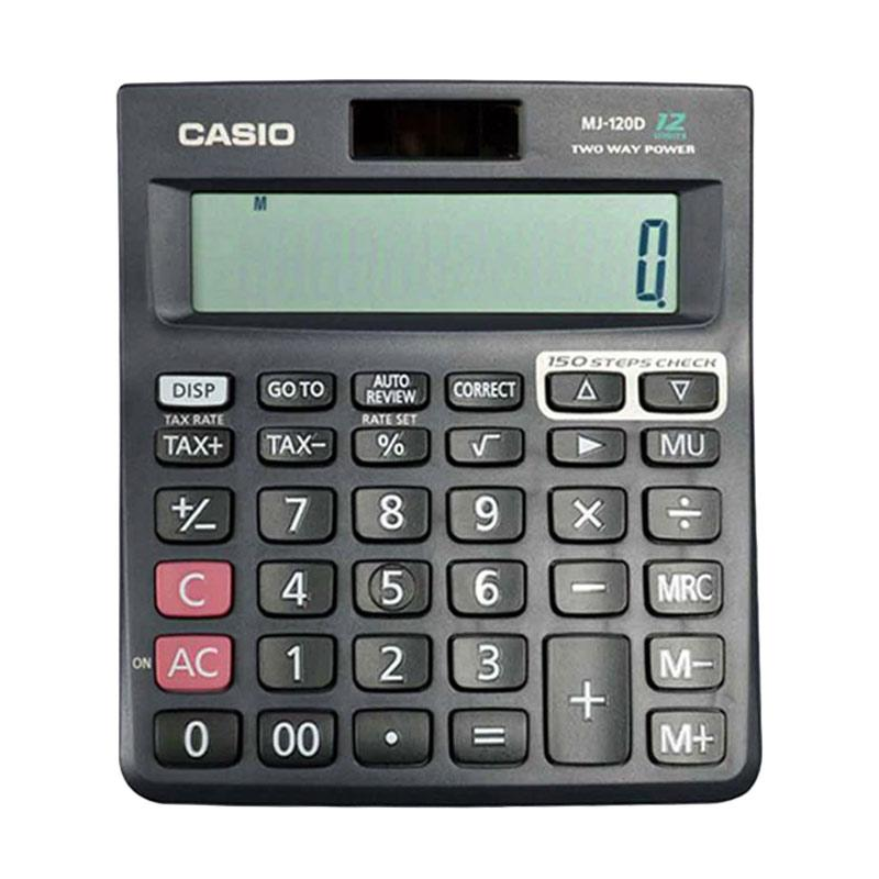 CASIO MJ-120D Two Way Power Kalkulator [12 Digit]