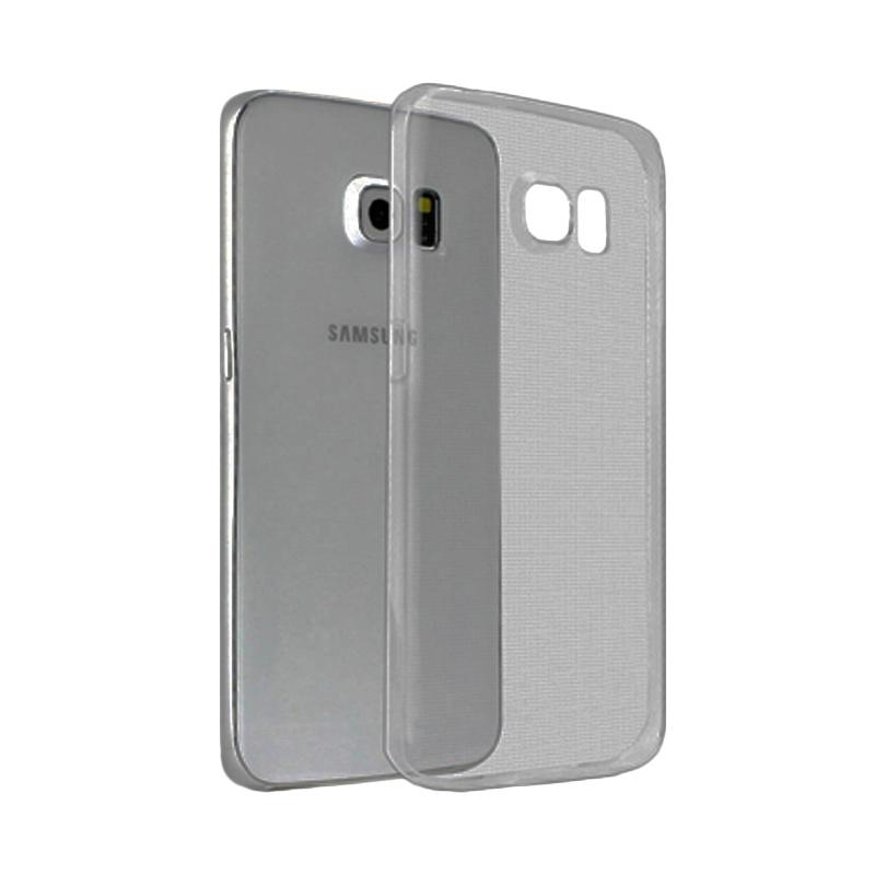 Ume Ultrathin Silicone Jellycase Softcase Casing for Samsung Galaxy S6 - Hitam