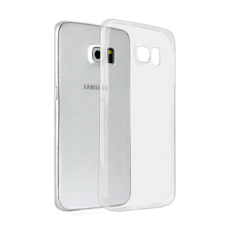 Ume Ultrathin Silicone Jellycase Softcase Casing for Samsung Galaxy S6 - Transparan