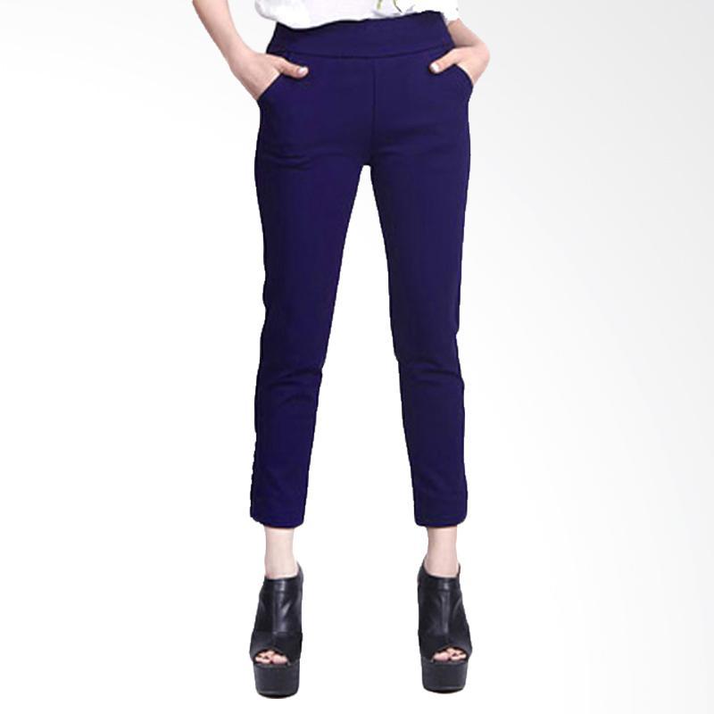Rasya Scuba Celana Wanita - Navy
