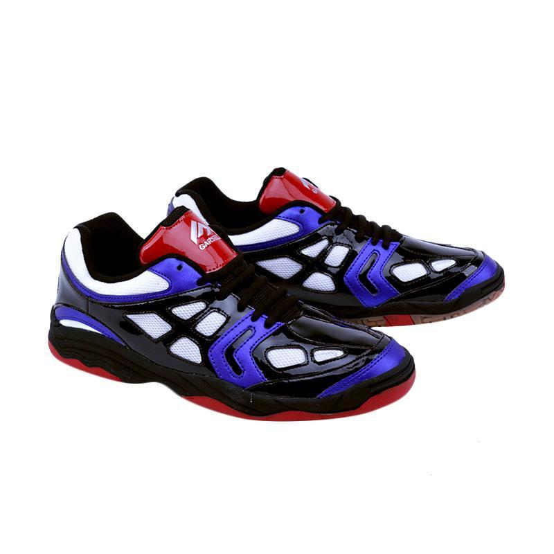 Garsel Sepatu Badminton Pria - Putih Merah [TMI 7751]