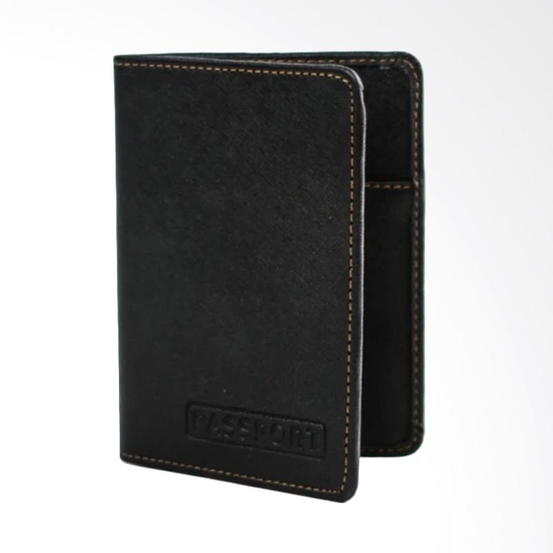 Garuda Shop Passport All New Case Cover Passport - Hitam 001