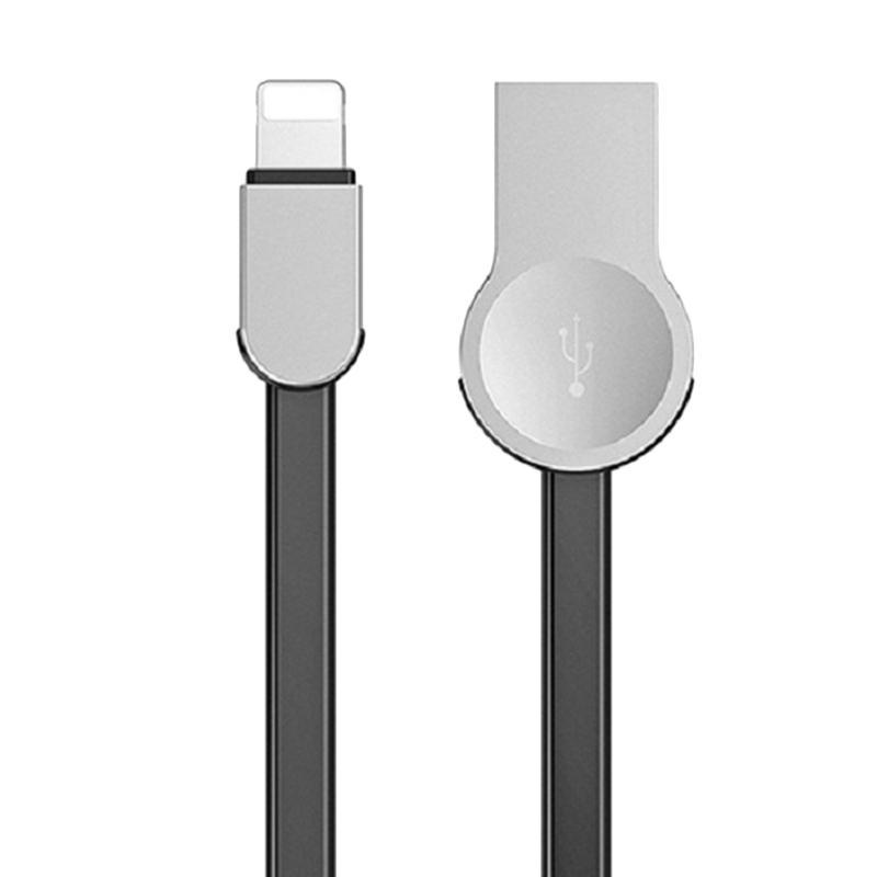 Baseus Keyble Lightning Cable USB for Apple - Black [1 meter/ Zinc Alloy]