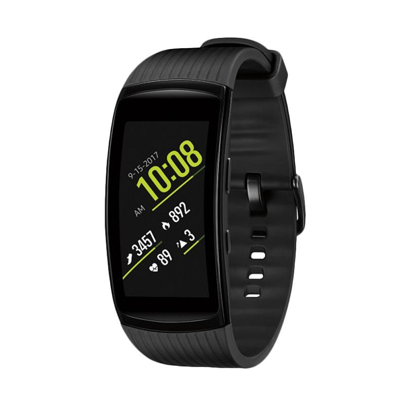 Kamis Ganteng - Samsung Gear Fit 2 Pro Smartwatch - Black [Small]