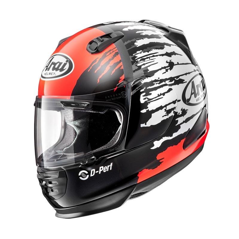harga Arai Rapide-IR Helm Full Face - Splash Red Blibli.com