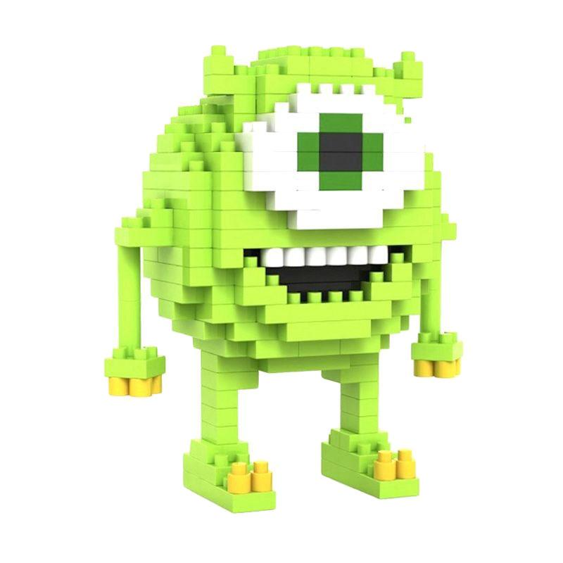 Loz Gift Mike 9162 Mainan Blok & Puzzle [Medium]